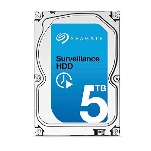Seagate Surveillance 5TB HDD interne Festplatte (3,5 Zoll, 7200rpm, 128MB Cache, SATA) für 168,27€ [Amazon.fr]