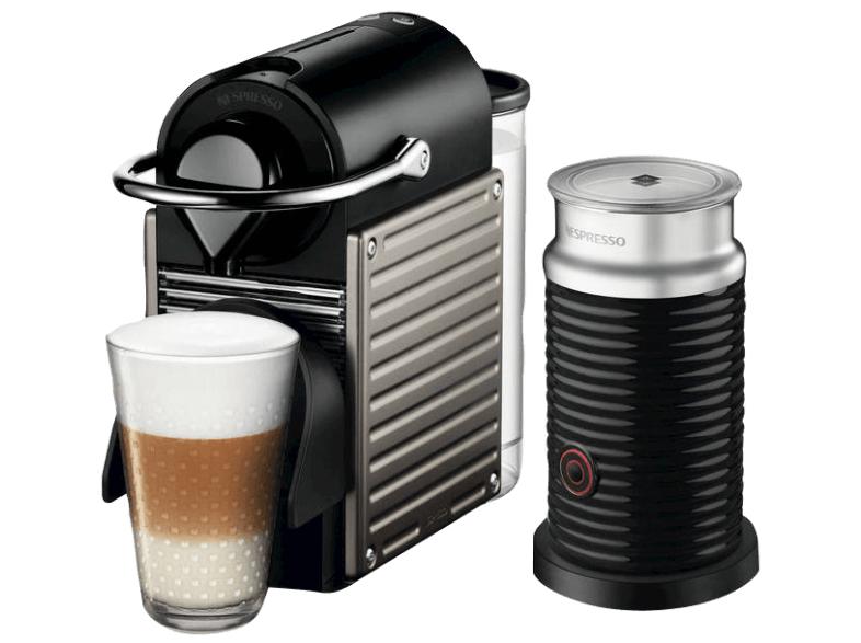 Kaffee-Tiefpreisspätschicht bei Media Markt, z.B. Krupsx XN301T Nespresso Pixie + Aeroccino inkl. 100 Kapseln für 99€ oder Dolce Gusto Kapseln für 3,99€ pro Packung