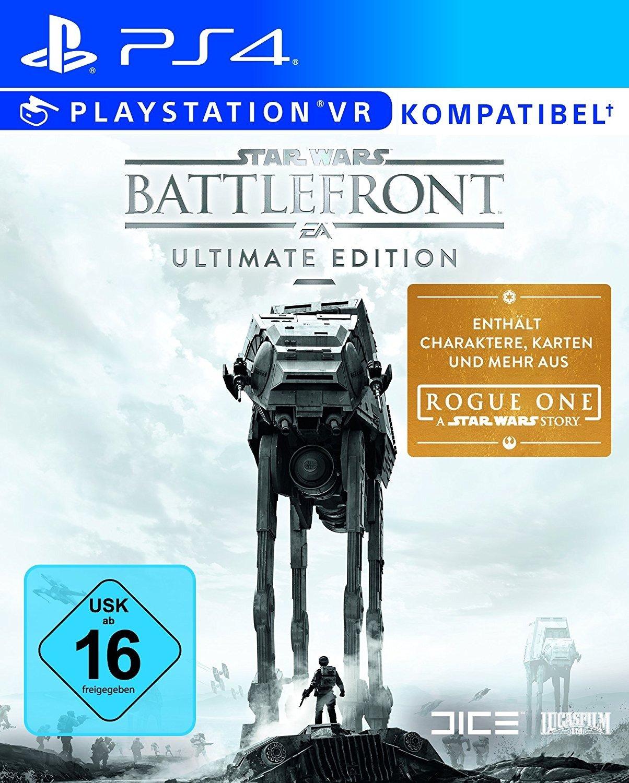 Star Wars Battlefront (Ultimate Edition) - Xbox One, PC oderPlaystation 4 für je 22,-€ Versandkostenfrei [Saturn Late Night Shopping]