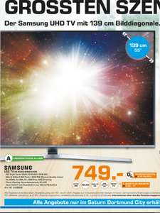 (Lokal) SAMSUNG UE55KU6459 UHD 4K, SMART TV, LED TV @ Saturn Dortmund
