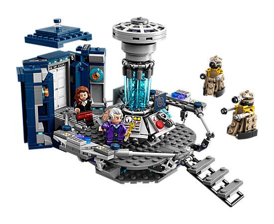 Lego Ideas 21304 Dr. Who Tardis 41,99 € offline oder 45,49 € online inkl. VSK + 5 € Amazon Gutschein über Shoop bei [LEGO]