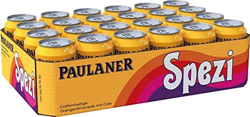 [Amazon] Paulaner Spezi, 24er Pack, Einweg (24 x 330 ml) zzgl. 6€ Pfand (Sparabo möglich 47 Cent pro Dose  zzgl. Pfand )