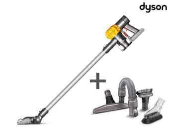 [iBood.com] Kabelloser Dyson DC62+ Staubsauger mit Toolkit (idealo: 329 €)