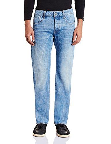 G-STAR RAW Herren Jeanshose 3301 Straight ab 29,99€ statt PVG 74,96€