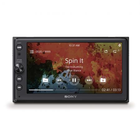 """Sony XAV-AX100 für 379,90€ - 6,4"""" Doppel-Din Media Receiver mit Bluetooth, CarPlay und Android Auto, Navigation, Spotify und mehr *UPDATE*"""