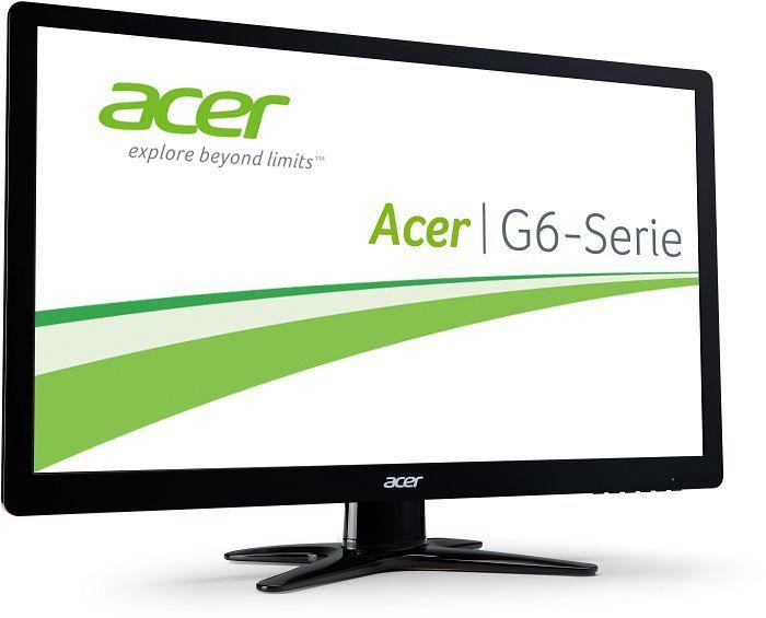Acer G6 G246HYLbid Monitor (24'' FHD IPS, 250cd/?m², 1.000:1, 6ms, HDMI + VGA, EEK A) für 111€ [Cyberport]