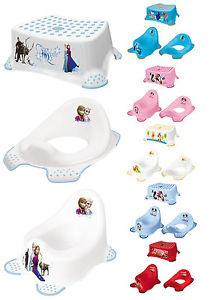 """3er Set Disney Kinder Babytopf Toilettensitz Tritthocker mit Anti-Rutsch-System zum Beispiel """"Frozen"""" für 19,99€"""