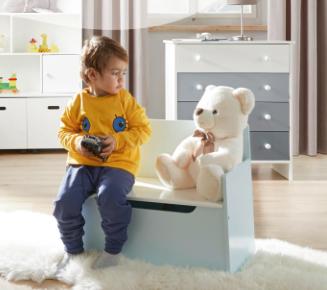 Kinderzimmer-Aktion bei [Mömax] z.B. Kommoden für 39€, Teddy für 1,90€..