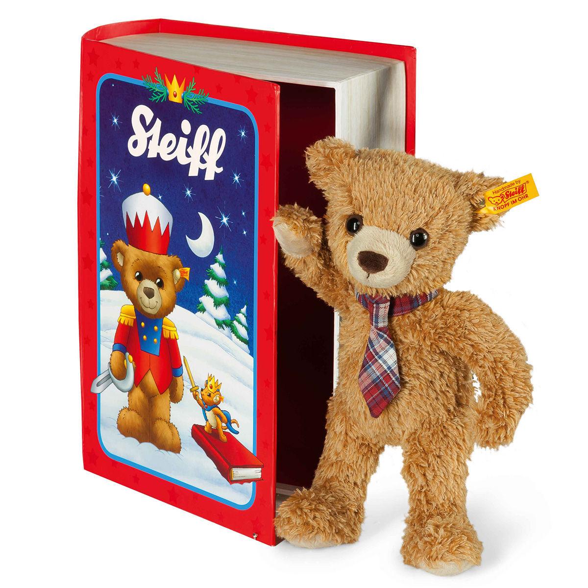 25% Rabatt auf Steiff bei [Karstadt] z.B. Teddybär Carlo in Märchenbuchbox für 23,69€ inkl. VSK, statt ca. 33€