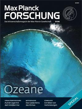"""Spezialheft """"Ozeane"""" der Max Planck Forschung gratis"""