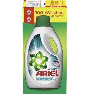 -50% auf ARIEL Waschmittel bei AllyouneedFresh, inkl. 15€ GUTSCHEIN