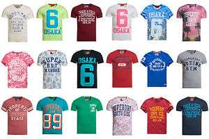 Superdry Herren T-Shirts ca. 50 Modelle für je 13,95 Euro