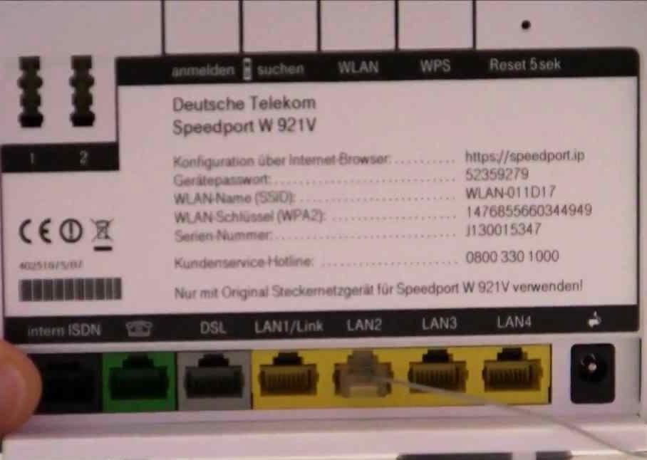 Telekom Speedport bis 100 Mbit/s DSL Router, Gebrauchtware, 12 Monate Gewährleistung @ Price Guard *wieder da*