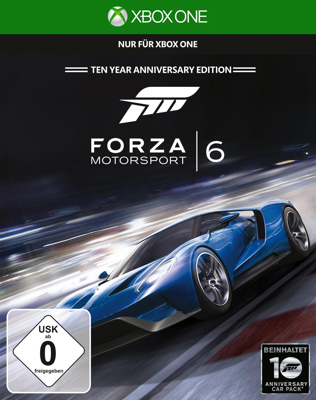 Forza Motorsport 6 für 27,99€ und Rare Replay 11,99€ (jeweils Disc Version)