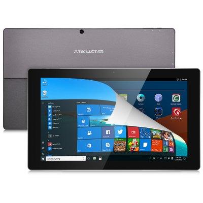 Teclast Tbook 16 Power Tablet PC | Windows 10 + Android 6.0 | Intel Atom x7-Z8750 64bit Quad Core 1.6GHz | 8GB RAM 64GB ROM | 11.6 inch IPS Screen Bluetooth 4.0 OTG Cameras