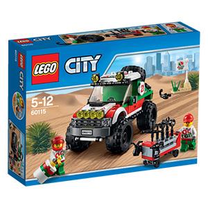 Lego City 60115 Allrad-Geländewagen für 10€ bei Abholung @ [real]
