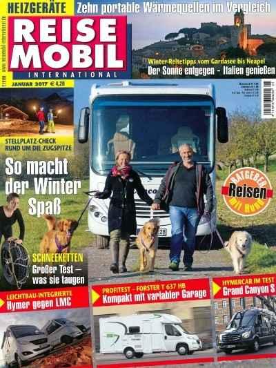 Magazin Reisemobile International. 2 Ausgaben Gratis. Kündigung Notwendig