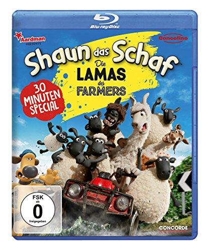 Shaun das Schaf - Die Lamas des Farmers Blu-Ray USK Version 4,99 € [Amazon.de]