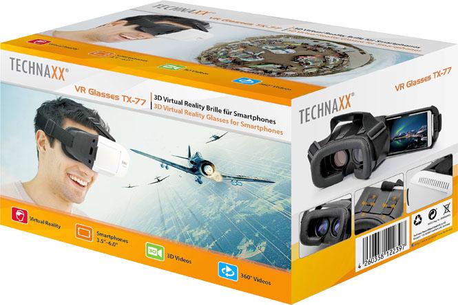 TECHNAXX Virual Reality Brille - TX 77 - ab 26.1.bei Kaufland