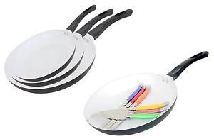 (dynamic-auction) Pfannenset 3 Pfannen (20/24/28cm) oder Bratpfanne+6 Steakmesser ebay Wow