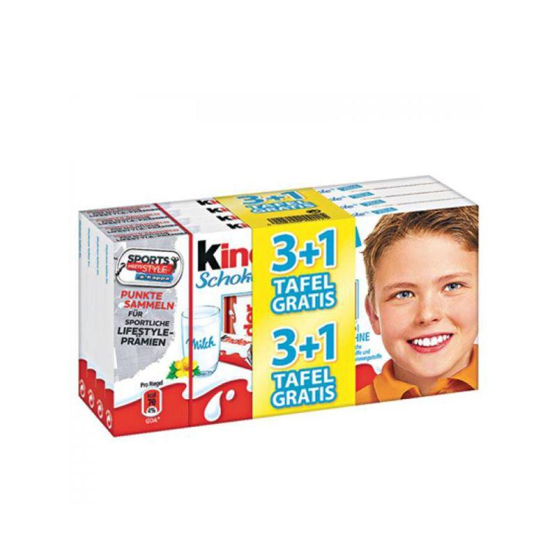 Kinderriegel 4 Tafeln á 125g für 2,99€ (5,99€/kg) bei NP-Discount