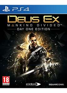 Deus Ex: Mankind Divided Day 1 Edition (PS4) für 17,65€ inkl. VSK (Base)