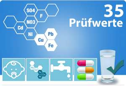 Analyse des Trinkwassers