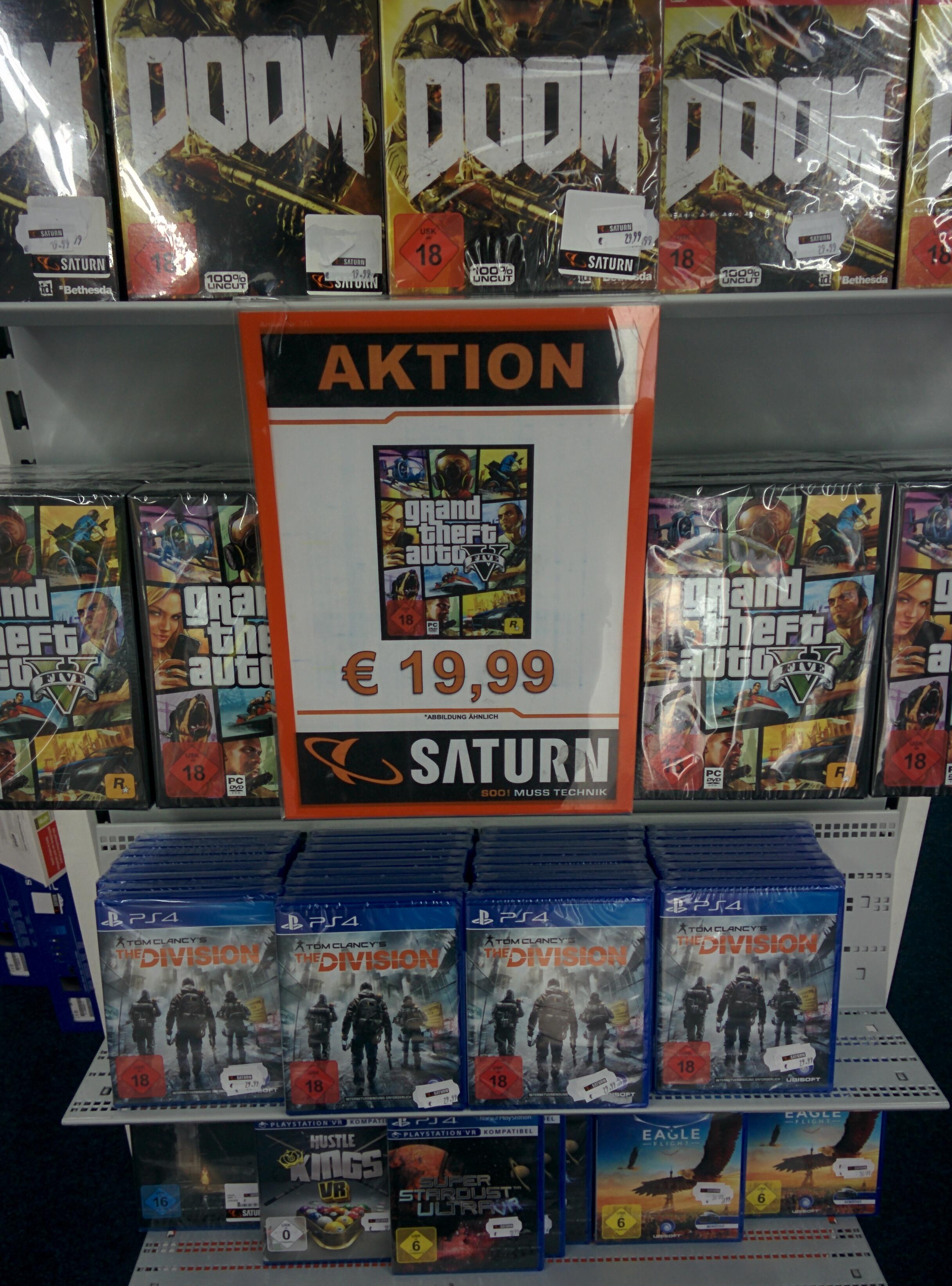 Lokal Saturn Köln Hansaring: GTA 5 PC