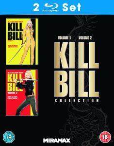 Kill Bill 1 + 2 als Blu-ray-Doppelpack mit deutscher Tonspur bei Zavvi.de