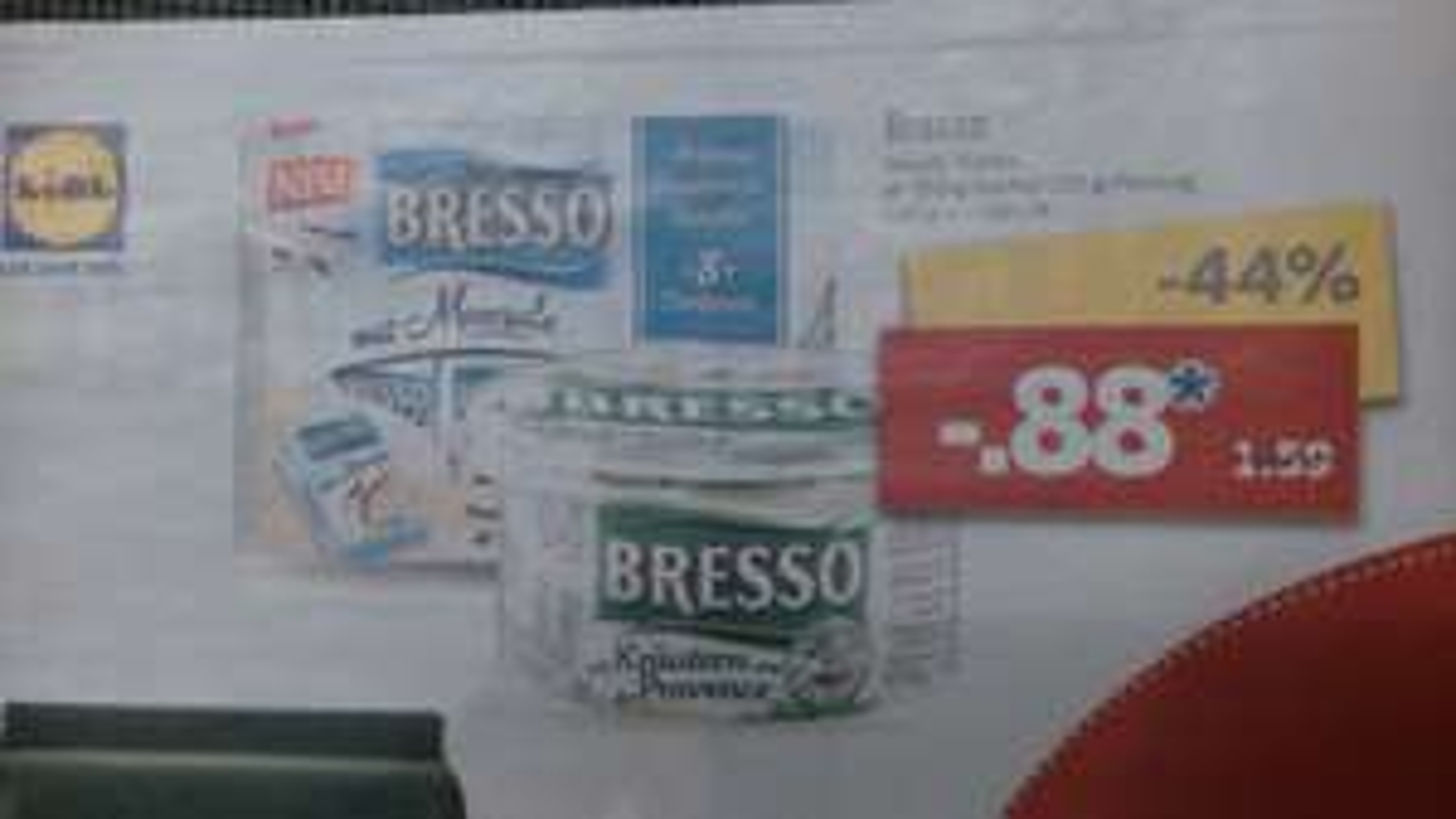 [LIDL] Bresso Frischkäse ab Montag den 23.01. - SB Coupon