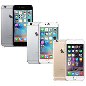 "[Ebay] Apple iPhone 6, LTE Smartphone 4,7 Zoll, 1GB RAM,128 GB interner Speicher, Dual-Core, iOS 10, 8 Megapixel  **REFURBISHED"" für je 409,90€"