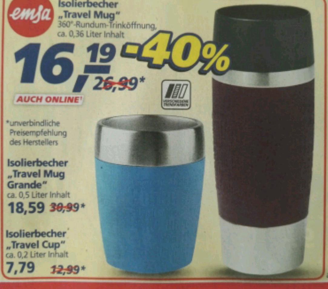 Travel Mug Grande 0,5l bei Real - auch online