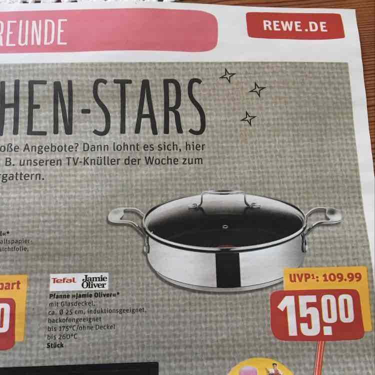 TEFAL Jamie Oliver Servierpfanne REWE Center - idealo 32,00€