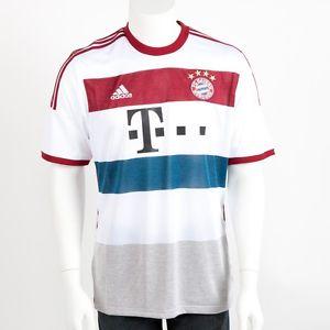 [ebay] Adidas FC Bayern München Herren Trikot Jersey Auswärtstrikot Weiß Large