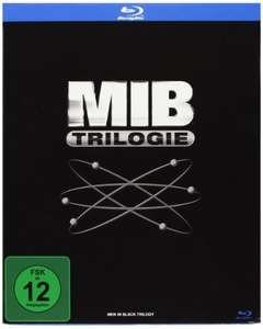 Men in Black Trilogie [Blu-ray] für 9,97 € >[amazon.de] >  (Prime)
