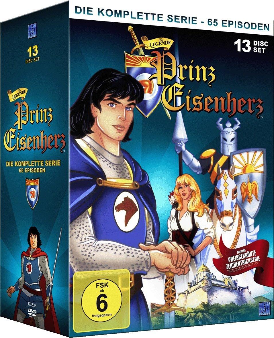 Die Legende von Prinz Eisenherz - Komplettbox (13 DVDs) für 11,74€ [Bücher.de]