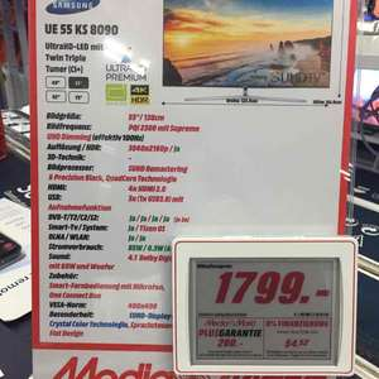 Samsung UE55KS8090