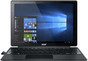 Acer Aspire Switch Alpha 12 Detachable (12,5'' QHD IPS Touch Digitizer, i7-6500U, 8GB RAM, 512GB SSD, USB Typ-C, Wlan ac, Keyboard-Dock [bel.], lüfterlos, 1,2kg, Win 10) für 899€ [Mediamarkt]