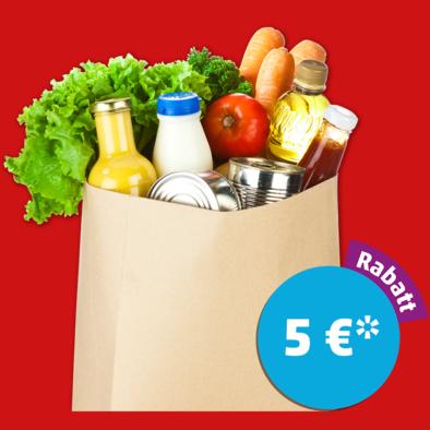 5€ Rabatt ab 40€ Einkaufswert am Freitag 27.01.17 18-23 Uhr [Penny]