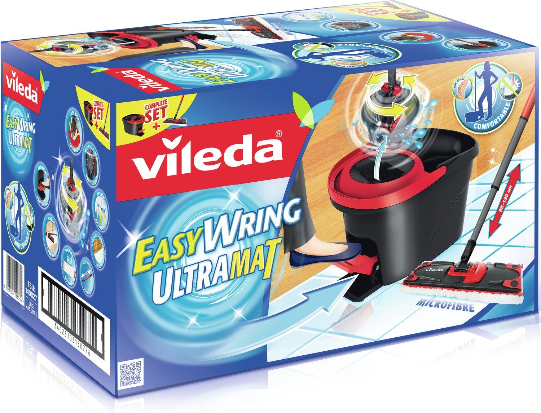 Vileda Easywring Ultramat 133877 + Gratis Mr. Muscle Allzweckreiniger für nur 10€ [REWE CENTER]