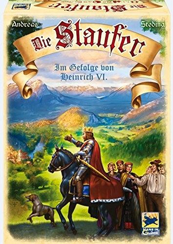 """[Lokal?] Karstadt Rhein Ruhr Zentrum """"Die Staufer"""" Brettspiel Hans im Glück Verlag"""
