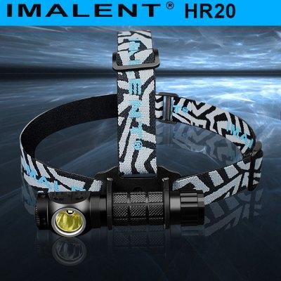 [GEARBEST] Imalent HR20 Stirnlampe fuer 28,07€ mit GB-APP 25,60€ möglich