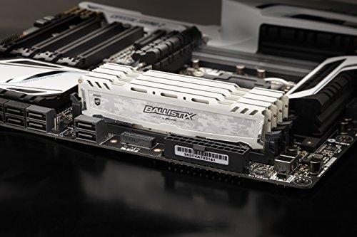 Ballistix Sport LT 16GB Kit (8GBx2) DDR4 2400 MT/s (PC4-19200) DIMM 288-Pin Memory - BLS2C8G4D240FSC
