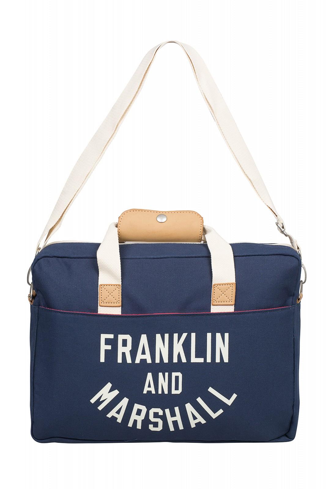 FRANKLIN AND MARSHALL Varsity Reporter Bag Umhänge-Tasche Blau 154FMB732.25