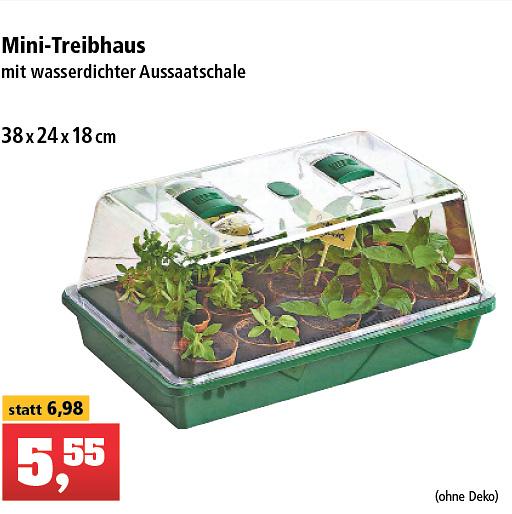 Mini Gewächshaus / Anzuchthaus Offline Thomas Philipps