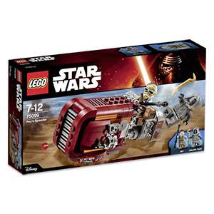 Lego™ - Star Wars: Rey's Speeder (75099) ab €16.- [@Real.de]
