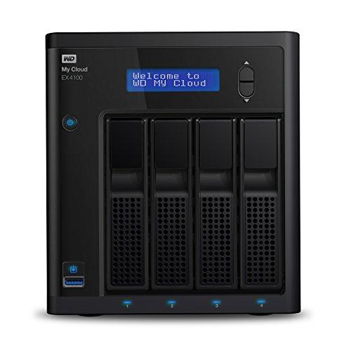 Western Digital My Cloud EX4100 Expert Series 4-Bay NAS Festplattengehäuse (ohne Platten) WDBWZE0000NBK-EESN für 264,50€ [Amazon.es]