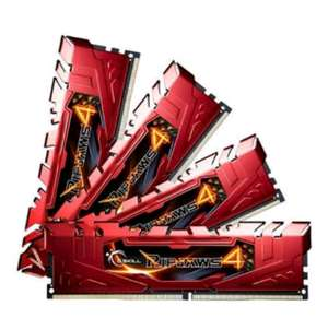 """RAMstag"" 32GB G.Skill RipJaws 4 rot DDR4-2133 DIMM CL15 Quad Kit !!!!159€"