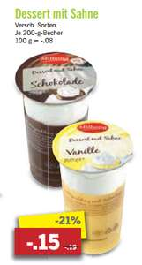 [Lidl] Beliebter low-budget Schokoladen oder Vanille Puding