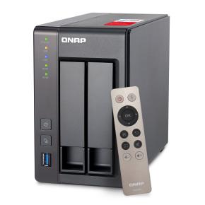 "[Notebooksbilliger] QNAP Systems TS-251+-2G TurboNAS 2-Bay [0/2 2,5""/3,5"" SATA 3Gb/s HDD/SSD, 2x Gigabit LAN, 2x USB 3.0, 2GB RAM]"